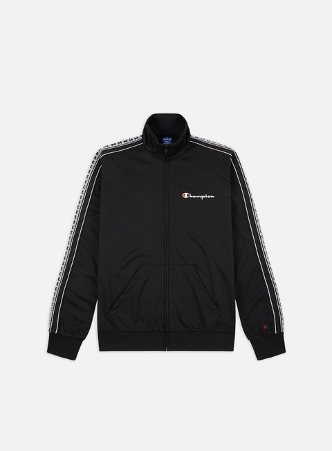 Track Top Champion Taped Sleeve Full Zip Track Top
