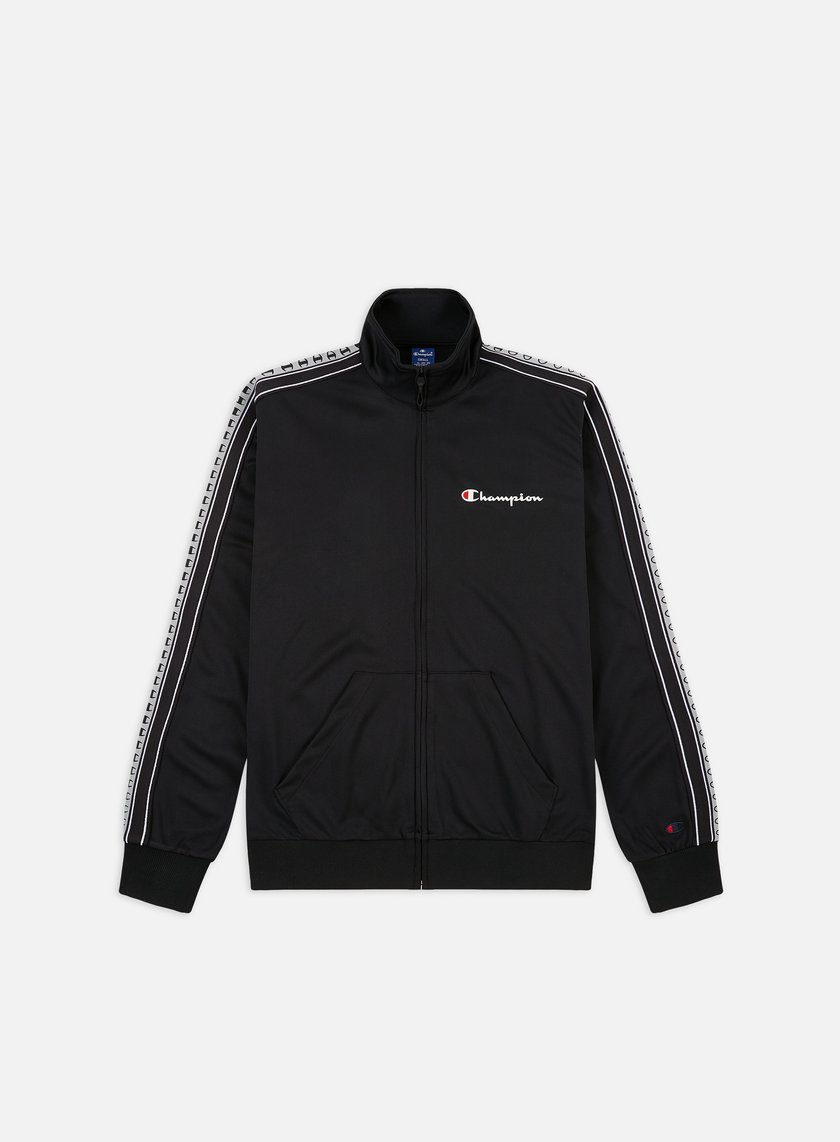 Champion Taped Sleeve Full Zip Track Top