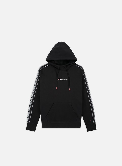 Hooded Sweatshirts Champion Taped Sleeve Hoodie