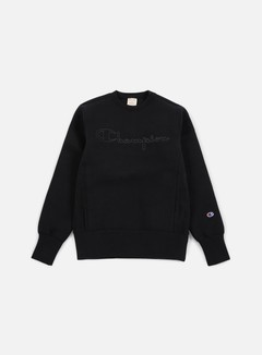 Champion - Tech Weave Crewneck, Black 1