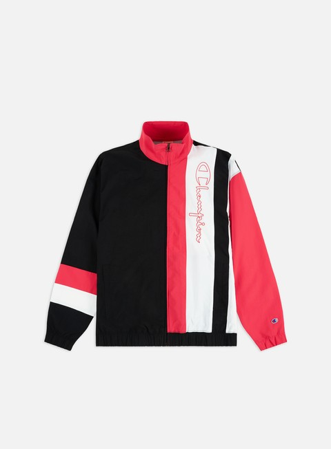 Sale Outlet Track Top Champion Tri Colour Block Full Zip Track Top
