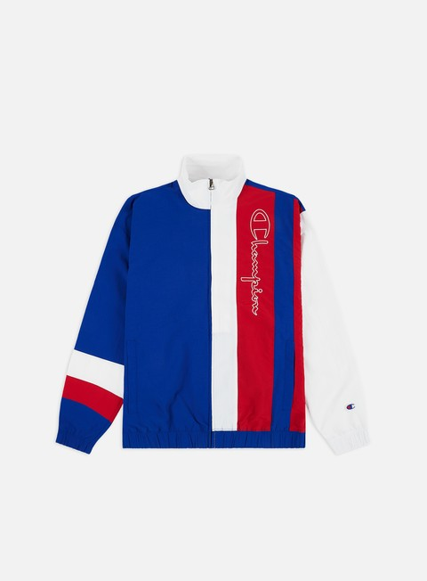 Track Top Champion Tri Colour Block Full Zip Track Top