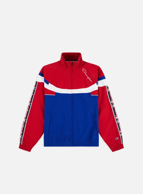 Track Top Champion Tri Colour Design Full Zip Track Top