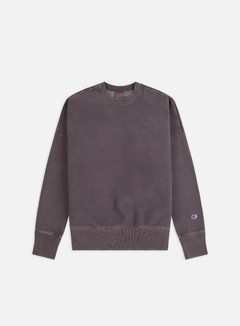 Champion - Vintage Washed Crewneck, Brown