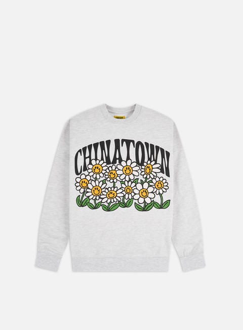 Chinatown Market Flower Power Crewneck