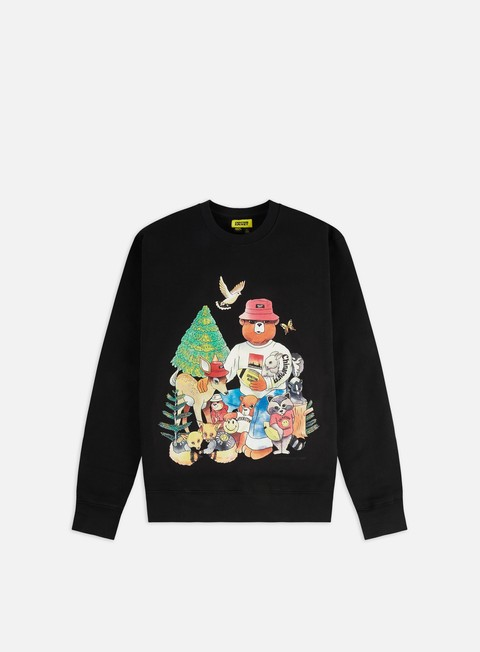 Chinatown Market Smiley Friends Crewneck