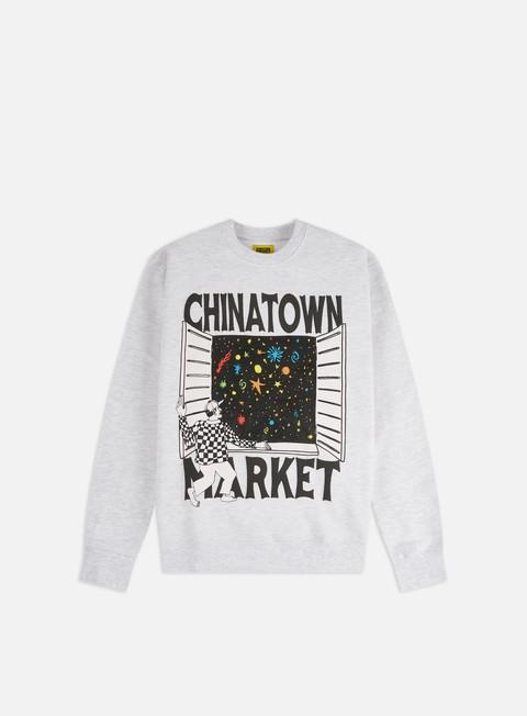 Felpe Girocollo Chinatown Market Window Crewneck