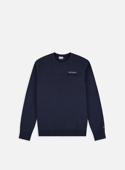 Felpe Girocollo Columbia Columbia Lodge Embossed Crewneck