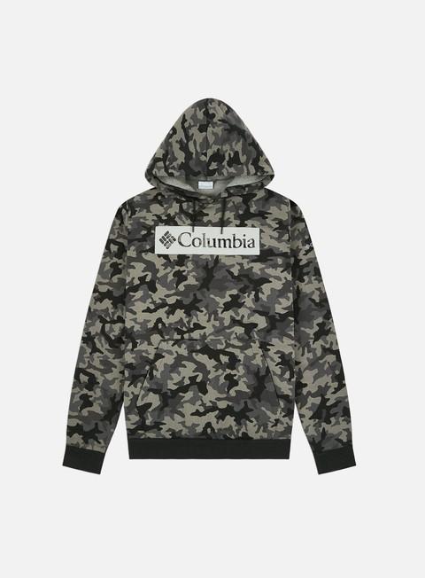 Columbia Columbia Logo Printed Hoodie