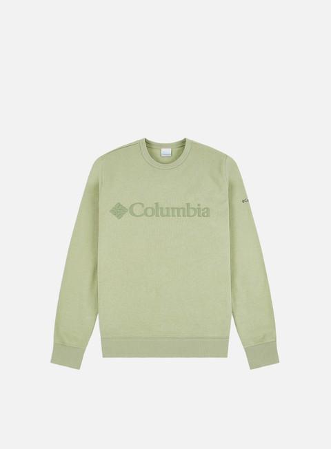 Felpe Girocollo Columbia Logo Fleece Crewneck