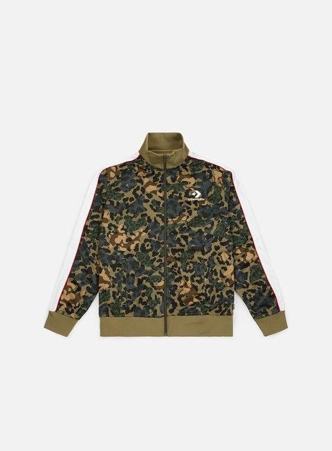 Sale Outlet Track Top Converse Camo Track Jacket