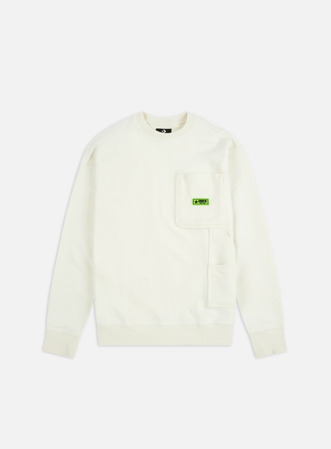 Outlet e Saldi Felpe Girocollo Converse Carpenter Crewneck