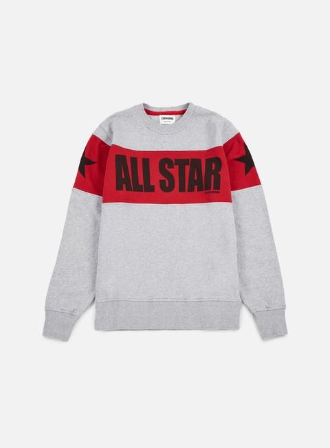 Crewneck Sweatshirts Converse Chuck Taylor Color Block Crewneck