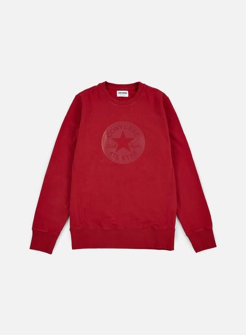 Crewneck Sweatshirts Converse Chuck Taylor Rubber Crewneck
