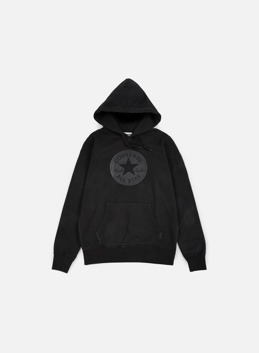Converse - Chuck Taylor Rubber Hoodie, Black