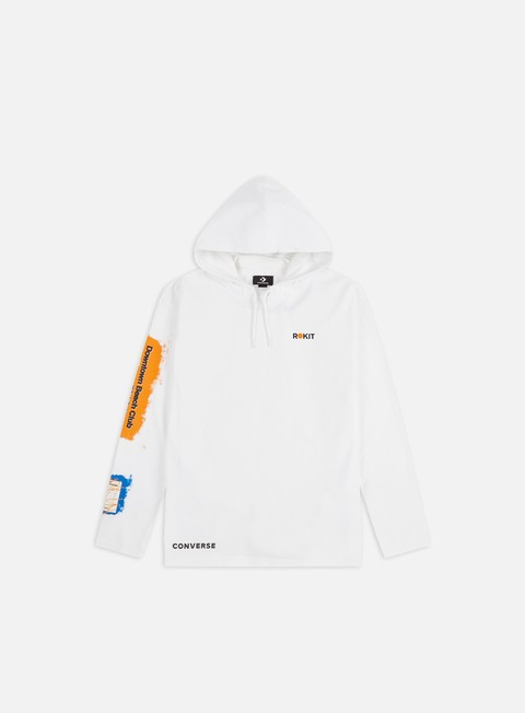 Hooded Sweatshirts Converse Converse x Rokit T-shirt Hoodie