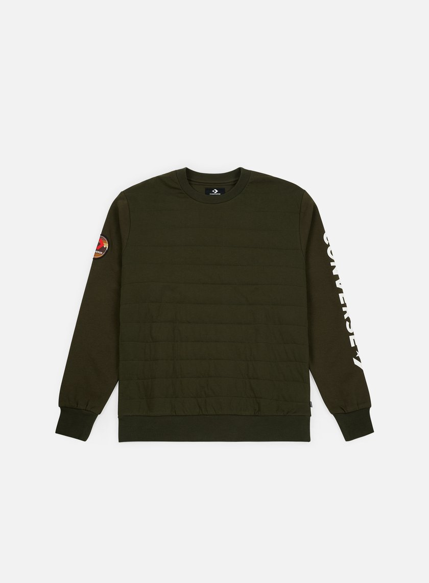 Converse Quilted Utility Crewneck