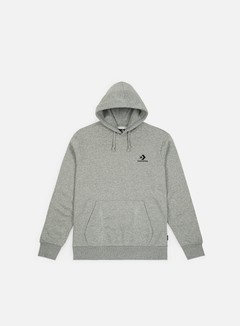 Converse - Star Chevron Pullover Hoodie, Charcoal/Red
