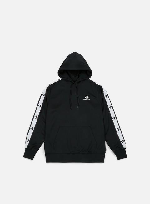 felpe converse star chevron track hoodie black