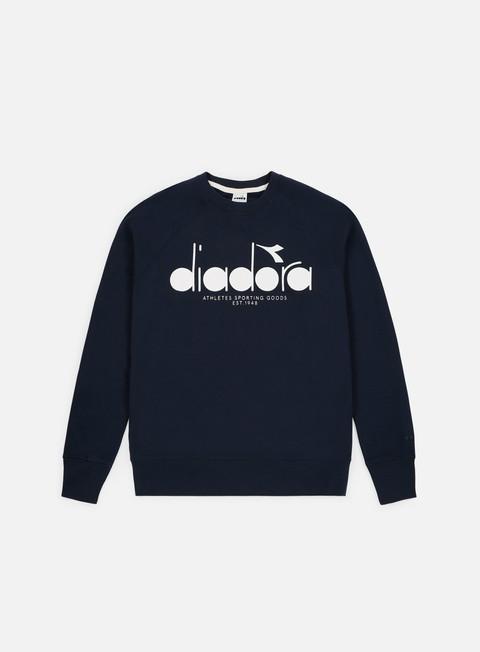 Crewneck Sweatshirts Diadora 5Palle Crewneck