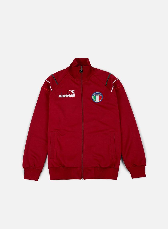 Diadora - 80s II Jacket, Jester Red