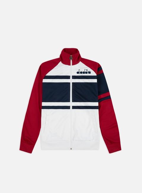 Felpe con Zip Diadora 80s Jacket