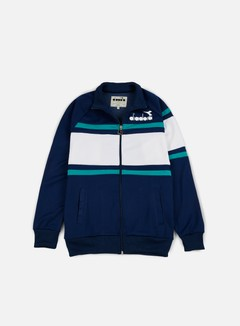 Diadora - 80s Jacket, Estate Blue/Porcelain Green 1