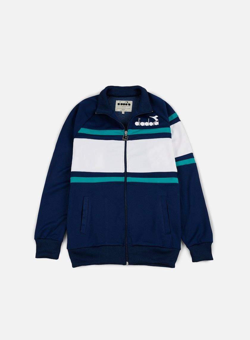 Diadora - 80s Jacket, Estate Blue/Porcelain Green