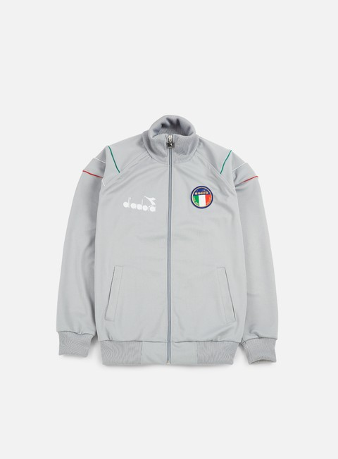 Felpe con Zip Diadora 90s Ita Jacket