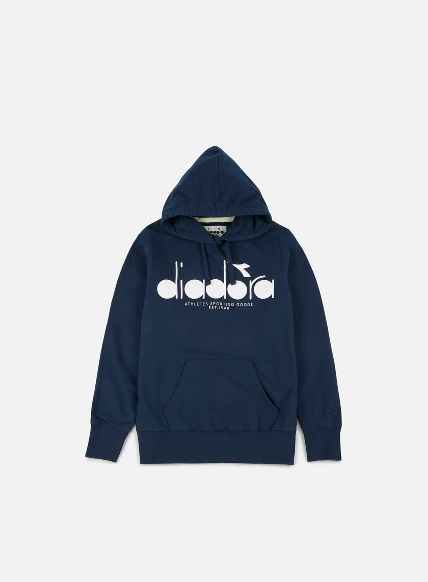 Diadora - BL Hooded Sweatshirt, Blue Denim