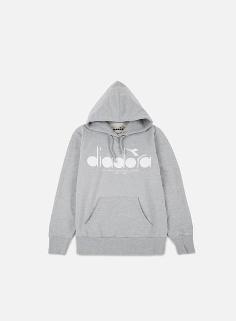 Outlet e Saldi Felpe con Cappuccio Diadora BL Hooded Sweatshirt