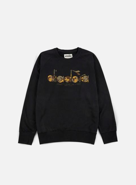 felpe diadora bl sweatshirt black