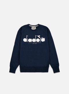 Diadora - BL Sweatshirt, Blue Denim