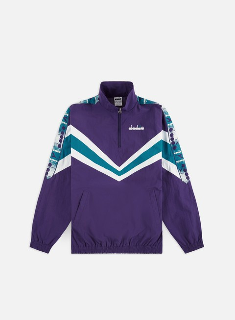 Track Top Diadora MVB Half Zip Jacket