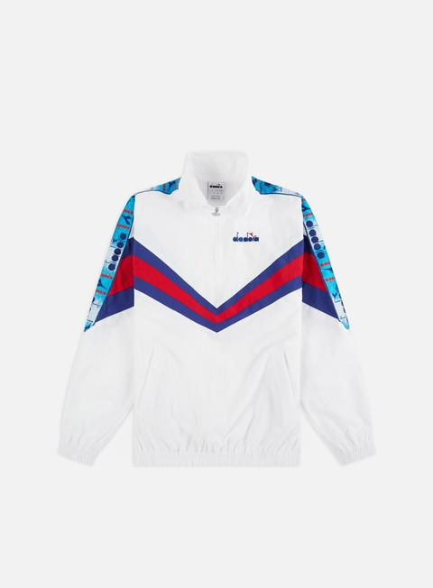 Outlet e Saldi Track Top Diadora MVB Half Zip Jacket