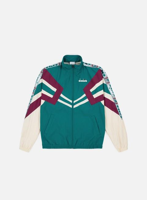 felpe diadora mvb track jacket emerald green