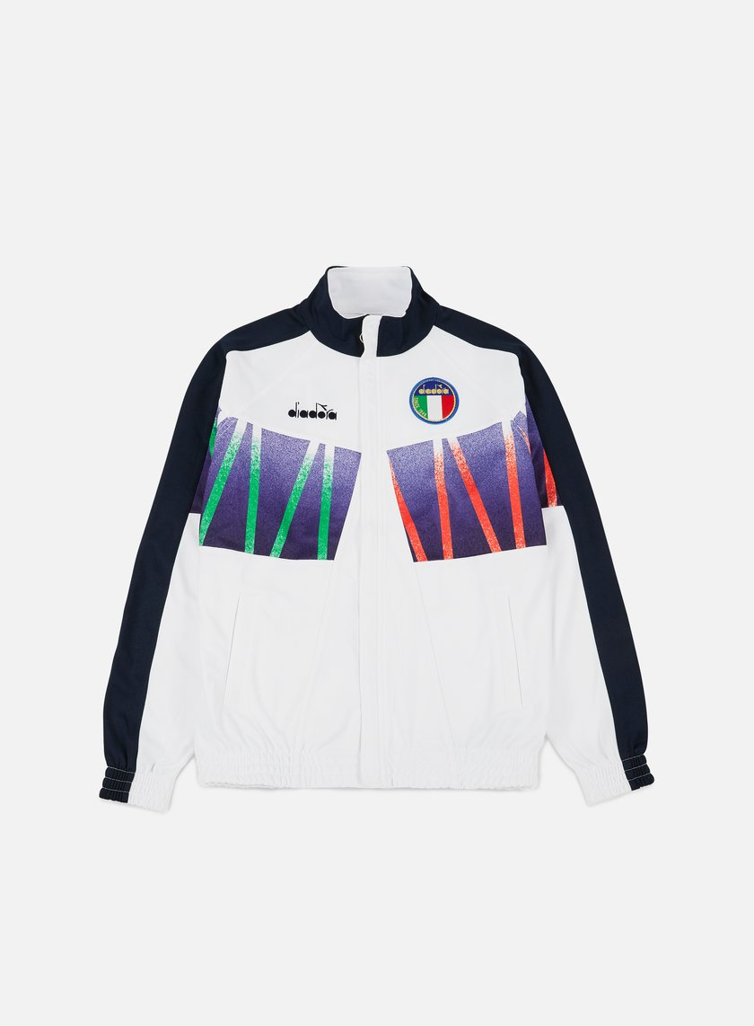Diadora - RB94 Track Jacket, Optical White