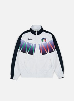 Diadora - Roberto Baggio Signature Track Jacket, Optical White 1