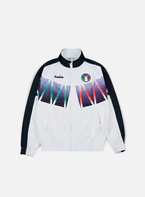 Outlet e Saldi Felpe con Zip Diadora Roberto Baggio Signature Track Jacket