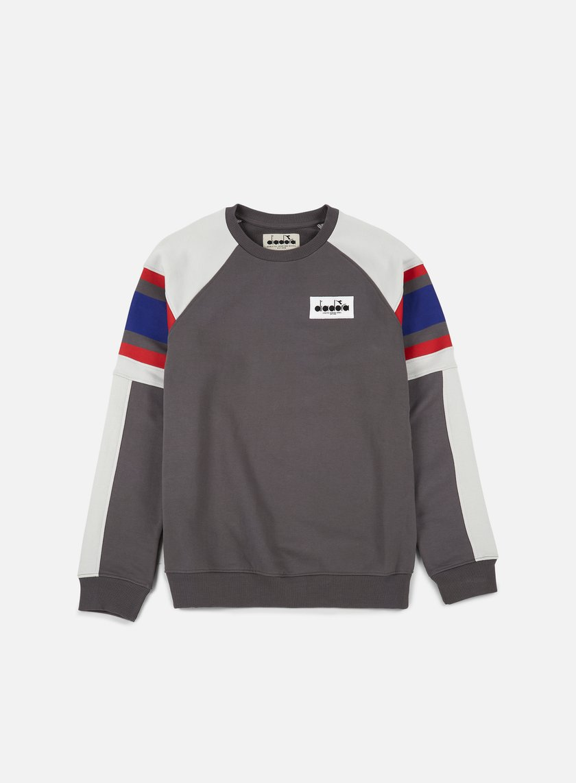 Diadora - Seoul 88 Sweatshirt, Castle Rock/Aluminium