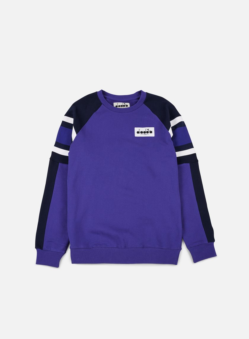 Diadora - Seoul 88 Sweatshirt, Navy/Blue Denim