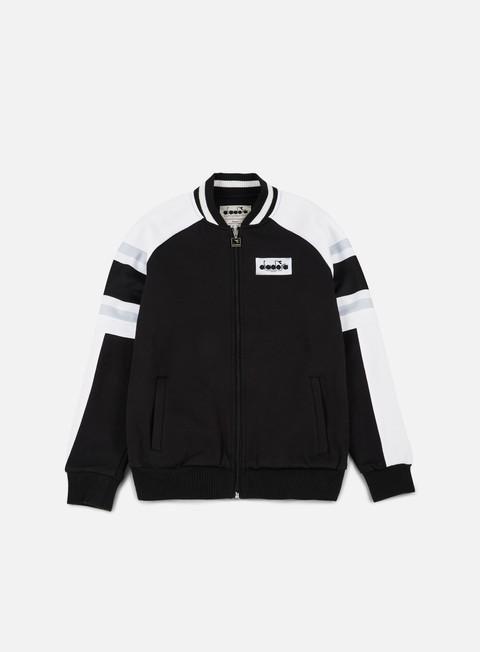 felpe diadora seoul 88 track jacket black