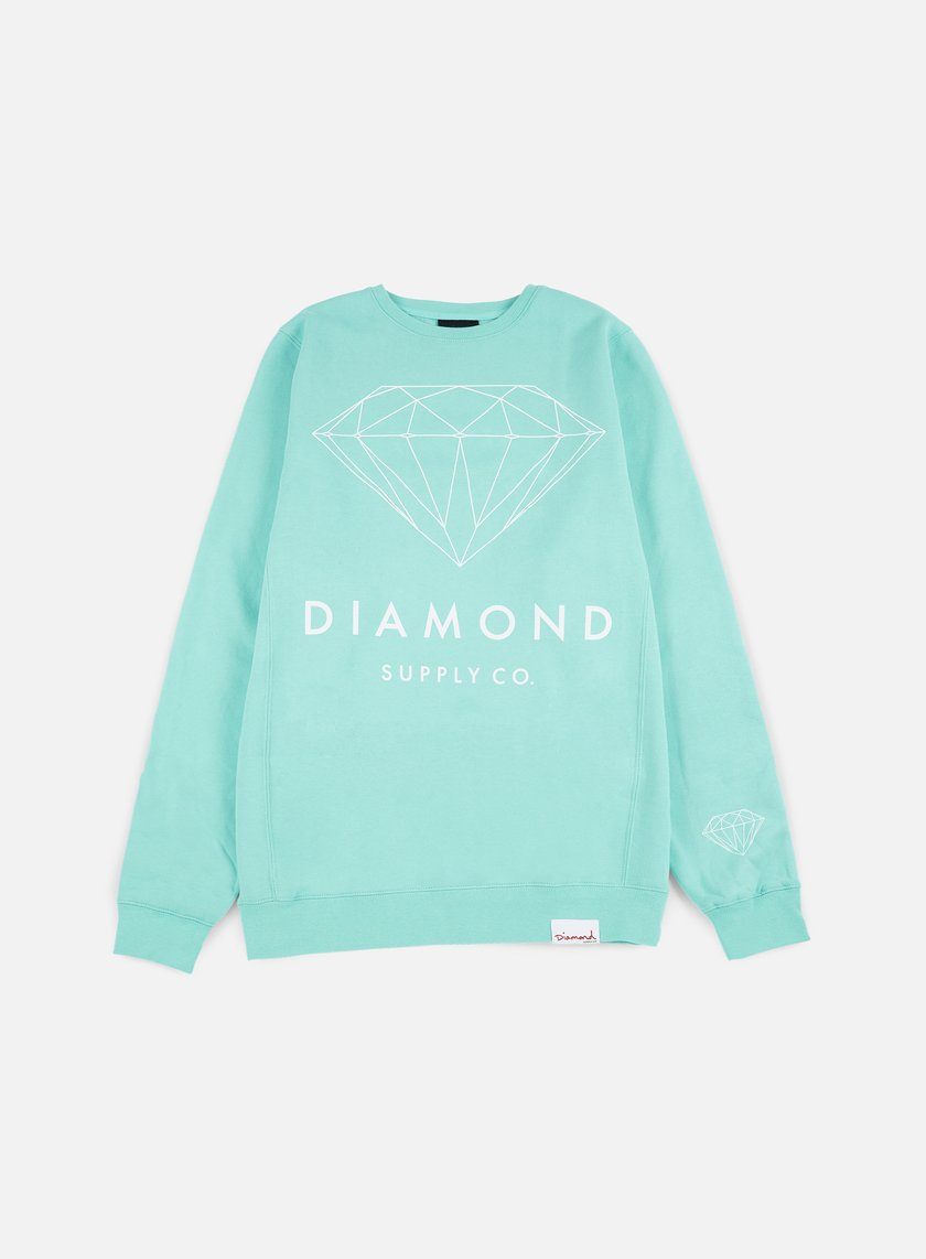 Diamond Supply - Brilliant Crewneck, Diamond Blue