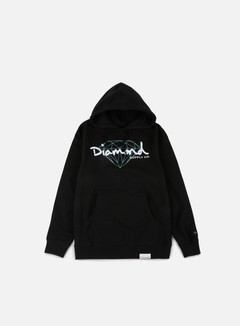 Diamond Supply - Brilliant Script Hoodie, Black 1
