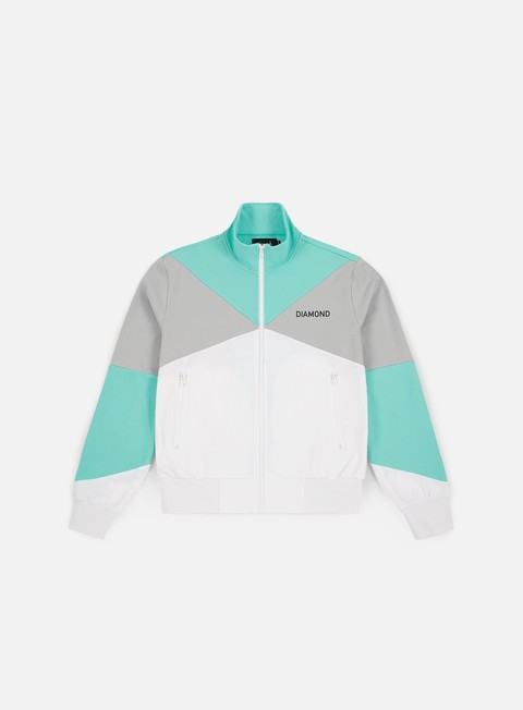 Track Top Diamond Supply Cherry Park Warm Up Jacket