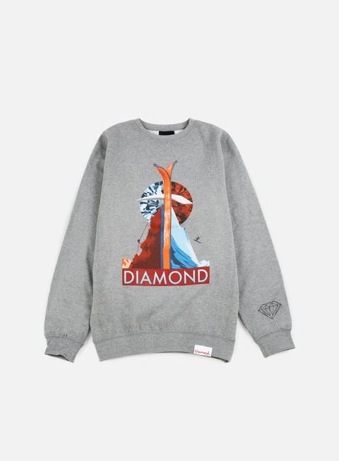 Crewneck Diamond Supply Diamond Peak Crewneck