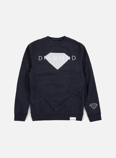 Diamond Supply - Diamond Solid Crewneck, Navy 1