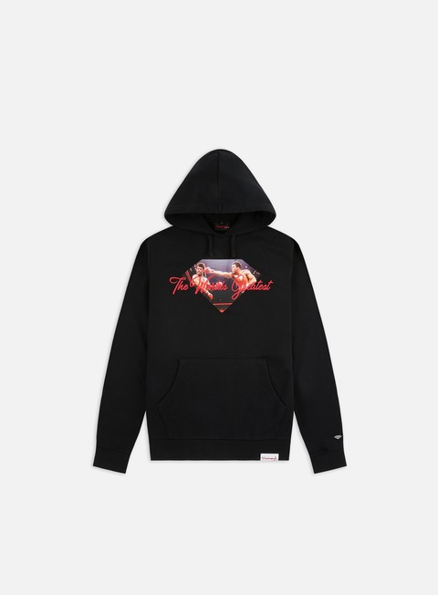 Outlet e Saldi Felpe con Cappuccio Diamond Supply Diamond X Muhammad Ali Sign Hoodie