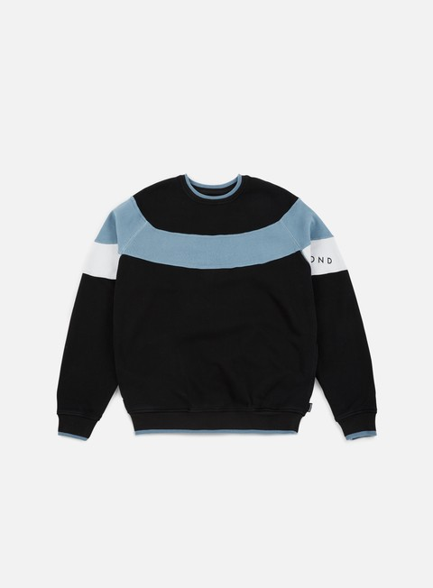 felpe diamond supply fordham crewneck black