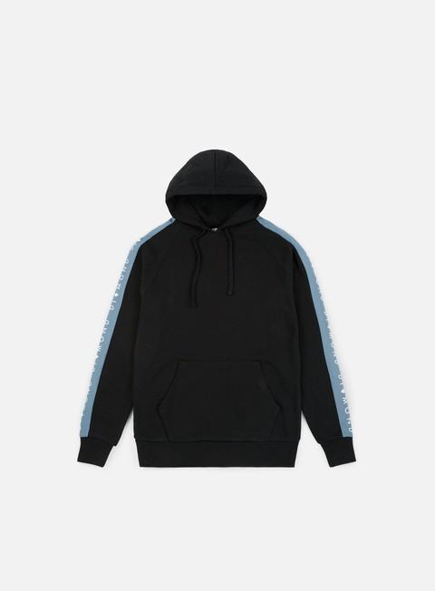 felpe diamond supply fordham hoodie black